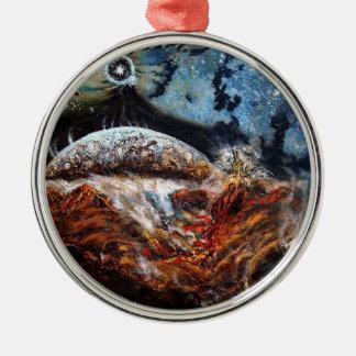 Elsewhere Metal Ornament