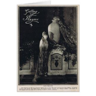 Elsie Ferguson 1919 Tarjeta De Felicitación