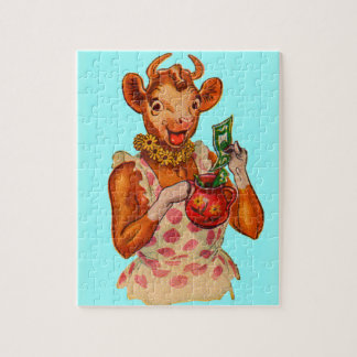 Elsie the Cow, money manager Jigsaw Puzzle