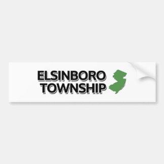 Elsinboro Township, New Jersey Bumper Sticker