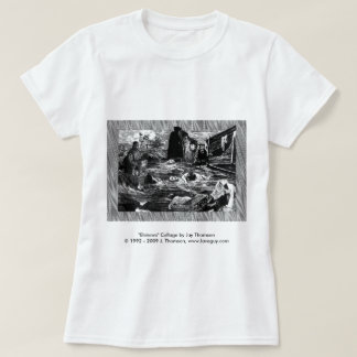 Elsinore Collage Baby Doll Tee