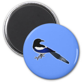 Elster Magpie Refrigerator Magnets