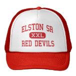 Elston Sr - Red Devils - High - Michigan City Trucker Hat
