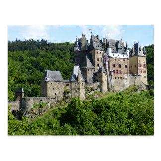 Eltz Castle, Wierscheim, Germany Postcard
