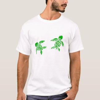 Elua honu (2 sea turtles) men's shirt