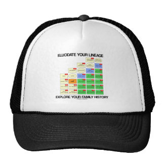 Elucidate Your Lineage Explore Your Family History Trucker Hat