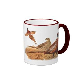 Elusive Pheasant Bird Hunting Mugs