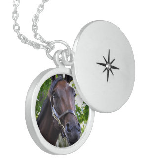 Elusive Quality Filly Sterling Silver Necklace