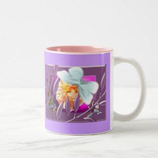 Elve with ladybirds mugs