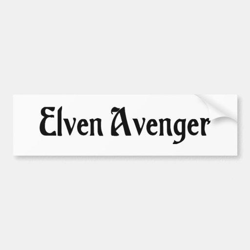 Elven Avenger Bumper Sticker