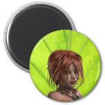 Elven Girl Magnet