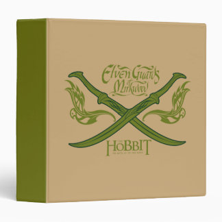 Elven Guards of Mirkwood Movie Icon 3 Ring Binder