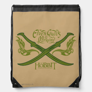 Elven Guards of Mirkwood Movie Icon Drawstring Backpack