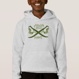 Elven Guards of Mirkwood Movie Icon Hoodie