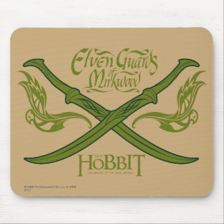 Elven Guards of Mirkwood Movie Icon Mouse Pad