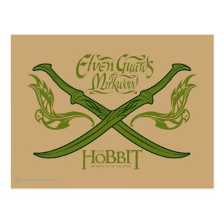 Elven Guards of Mirkwood Movie Icon Postcard