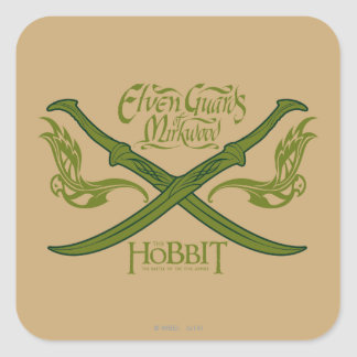 Elven Guards of Mirkwood Movie Icon Square Sticker