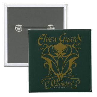 Elven Guards of Mirkwood Name Pinback Button