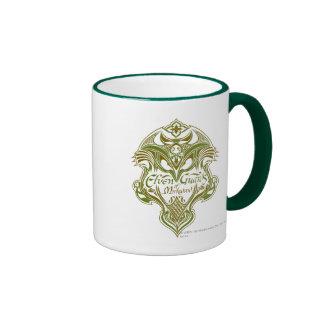 Elven Guards of Mirkwood Shield Icon Coffee Mug