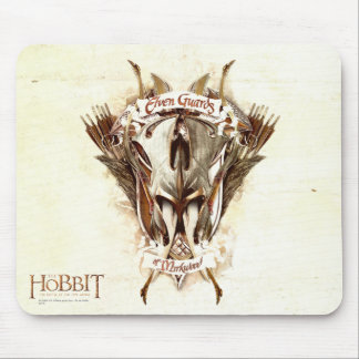 Elven Guards of Mirkwood Weaponry Mouse Pad