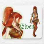 Elven Maid Mouse Pad