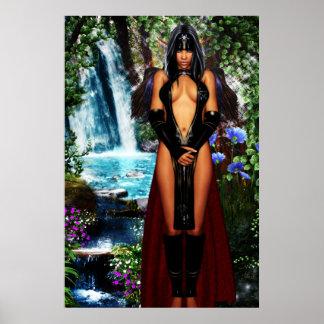 Elven Priestess Poster