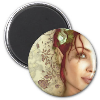 Elven Princess Fantasy Art Fridge Magnets