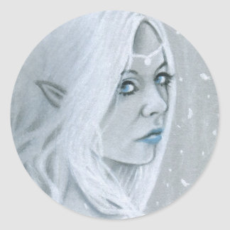 Elven Queen Sticker