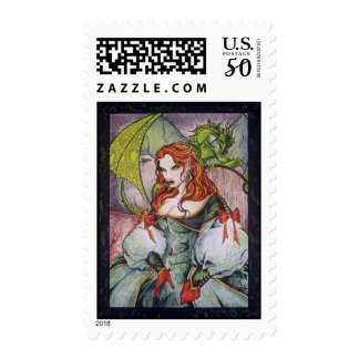 Elven Royalty Postage Stamps