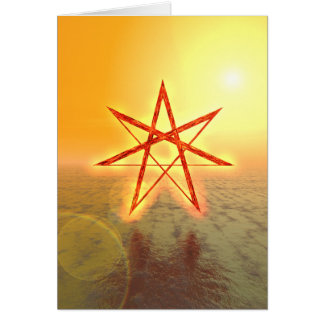 Elven Star 01 Greeting Card