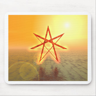 Elven Star 01 Mouse Pad