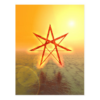 Elven Star 01 Postcard
