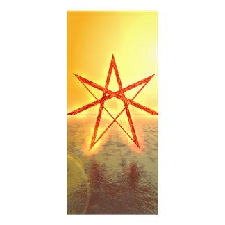 Elven Star 01 Rack Card Design