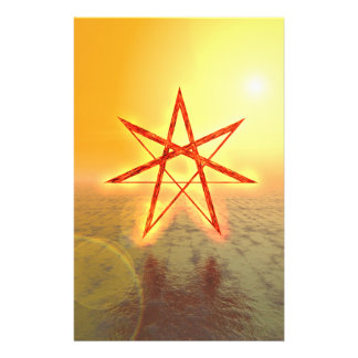 Elven Star 01 Customized Stationery