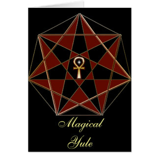 Elven Star Greeting Card