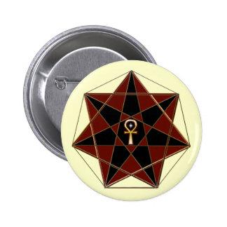 Elven Star Pinback Button