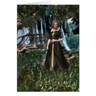 Elvenqueen Greeting Card