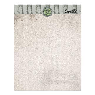 Elvenwood Green Leaf Spell Page