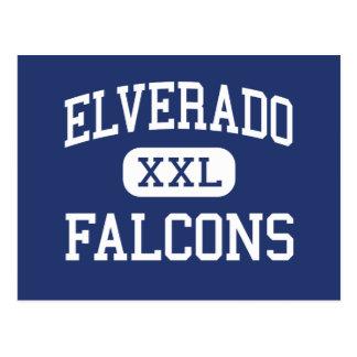 Elverado - Falcons - High - Elkville Illinois Postcard