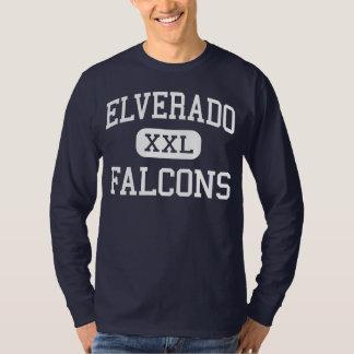 Elverado - Falcons - High - Elkville Illinois T-Shirt