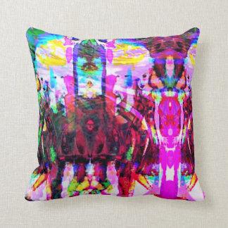 Elves 2 throw pillow