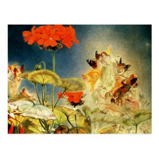 """""""Elves and Fairies, A Midsummer Night's Dream"""" Postcard"""