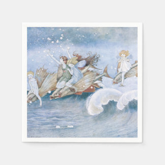 Elves and Fairies Disposable Napkins