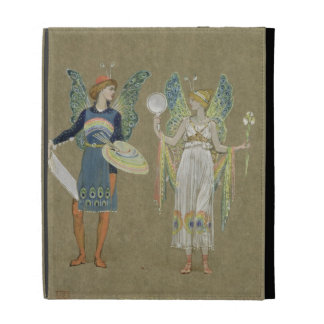 Elves and Fairy Painters, from 'The Snowman' 1899 iPad Folio Cover