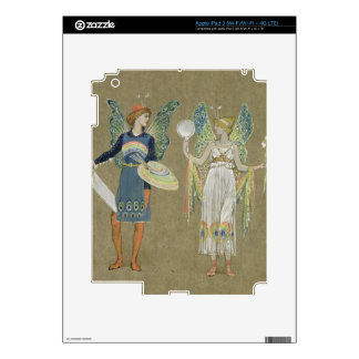 Elves and Fairy Painters, from 'The Snowman' 1899 iPad 3 Decal