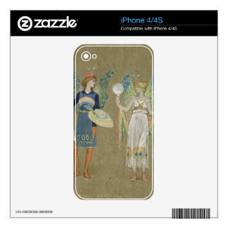 Elves and Fairy Painters, from 'The Snowman' 1899 iPhone 4S Decal