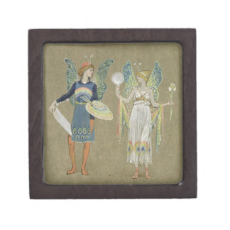 Elves and Fairy Painters, from 'The Snowman' 1899 Premium Trinket Boxes