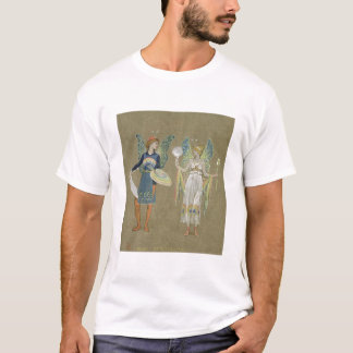 Elves and Fairy Painters, from 'The Snowman' 1899 T-Shirt