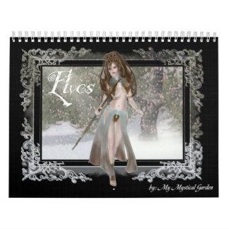 Elves Fantasy 2011 Calendar