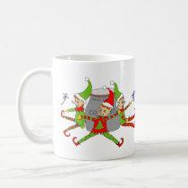 Elves Guarding Cookie Jar Coffee Mug